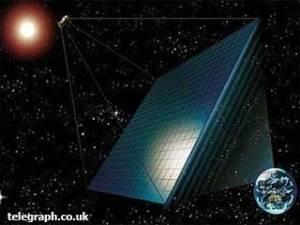 Satelit Penyerap Tenaga Surya